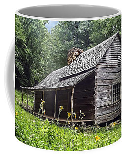 Old Settlers Cabin Smoky Mountains National Park Coffee Mug