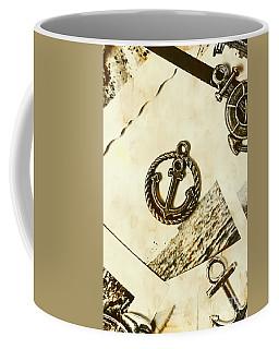 Old Shipping Emblem Coffee Mug
