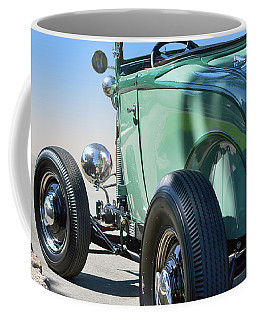 Coffee Mug featuring the photograph Old Skool Green by Bill Dutting