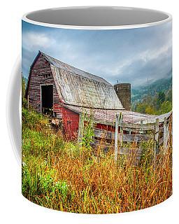 Old Smoky Mountains Barn Coffee Mug