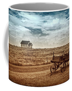 Coffee Mug featuring the photograph Old South Dakota Town by Sharon Seaward