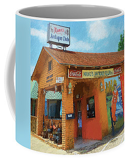 Old Southern Restaurant Daphne Al  Coffee Mug by Rebecca Korpita