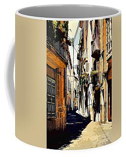 Old Spanish Street Coffee Mug