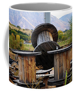Old Spool Coffee Mug