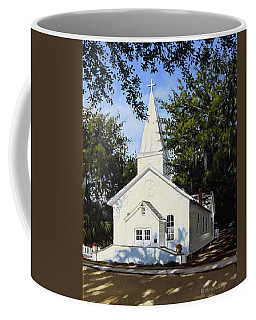 Coffee Mug featuring the painting Old St. Andrew Church by Rick McKinney