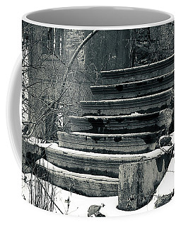 Old Stairs To Nowhere Coffee Mug by Jeff Severson