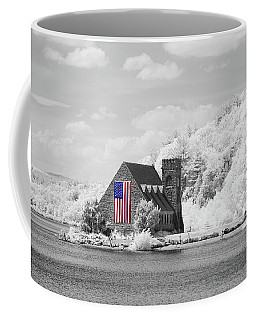 Coffee Mug featuring the photograph Old Stone Church Halespectrum 1 by Brian Hale