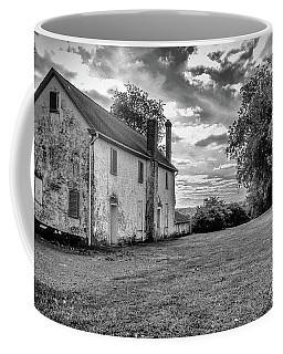 Old Stone House Black And White Coffee Mug