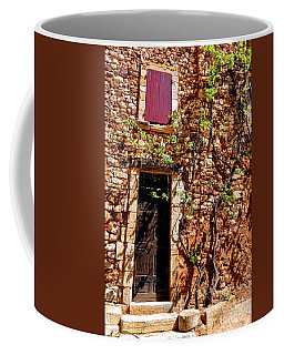 Old Stone House In Provence Coffee Mug by Olivier Le Queinec