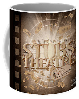 Old Stubs Theatre Advert Coffee Mug