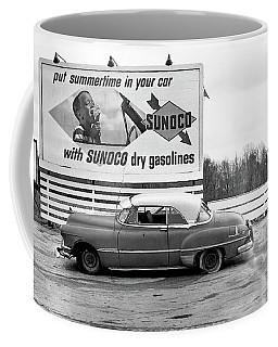 Old Sunoco Sign Coffee Mug by Paul Seymour