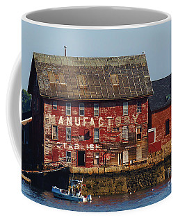 Old Tarr And Wonson Paint Factory. Gloucester, Massachusetts Coffee Mug
