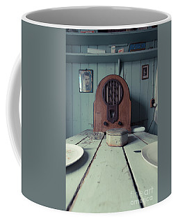 Coffee Mug featuring the photograph Old Time Kitchen Table by Edward Fielding