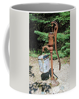 Coffee Mug featuring the photograph Old Time Pump by Gary Wonning