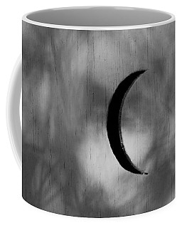 Coffee Mug featuring the photograph Old Time Quarter Moon by John Glass