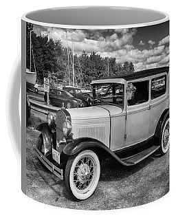 Old Time Riding Coffee Mug by Tricia Marchlik