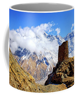 Coffee Mug featuring the photograph Old Tower by Fabrizio Troiani