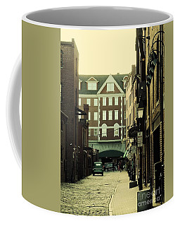 Old Town Alleyway, Portland Coffee Mug by Marcia Lee Jones