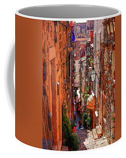 Old Town Dubrovniks Inner Passages Coffee Mug