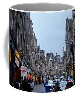 Old Town Edinburgh Coffee Mug