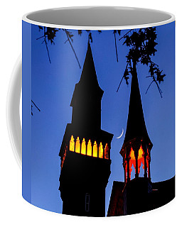 Old Town Hall Crescent Moon Coffee Mug