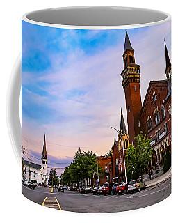 Coffee Mug featuring the photograph Old Town Hall Easthampton, Ma by Sven Kielhorn