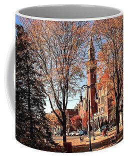Old Town Hall In The Fall Coffee Mug