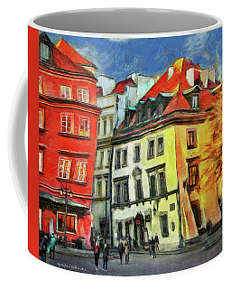 Old Town In Warsaw # 27 Coffee Mug