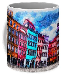 Old Town In Warsaw #11 Coffee Mug