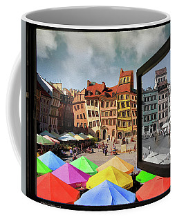 Old Town In Warsaw #13a Coffee Mug