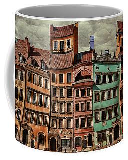 Old Town In Warsaw #15 Coffee Mug
