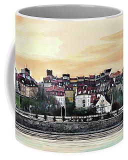 Old Town In Warsaw #16 Coffee Mug