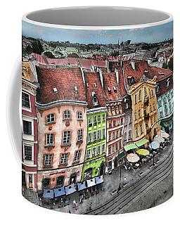 Old Town In Warsaw #20 Coffee Mug