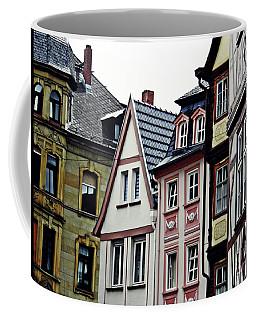 Old Town Mainz Coffee Mug by Sarah Loft