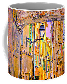Old Town Nizza, Southern France Coffee Mug
