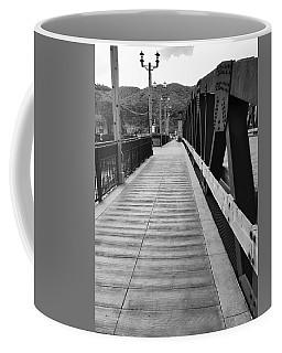 Old Town Temecula Bridge Bw Coffee Mug