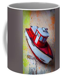 Old Toy Boat Coffee Mug