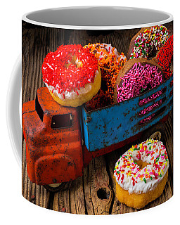 Old Toy Truck And Donuts Coffee Mug