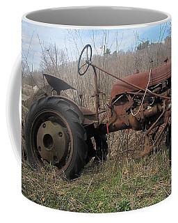 Old Tractor-clarks Farm Coffee Mug