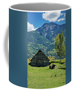 Coffee Mug featuring the photograph Old Tractor by Jason Coward