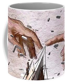 Traditional Art Vs. Digital Art Coffee Mug