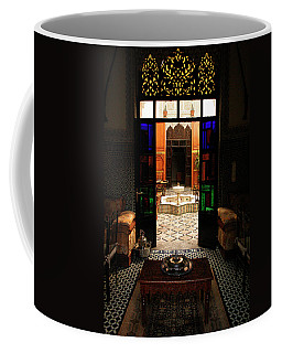Old Traditional Riad In Fez Coffee Mug by Ralph A  Ledergerber-Photography