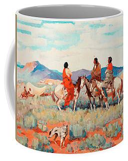 Smoke Trails Paintings Coffee Mugs