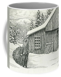 Old Tree Cutter Coffee Mug