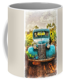 Old Truck At The Winery Coffee Mug