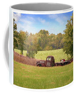 Old Truck On Back 40 Coffee Mug