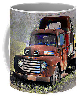 Coffee Mug featuring the photograph Old Trucks by Savannah Gibbs