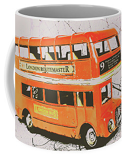 Old United Kingdom Travel Scene Coffee Mug