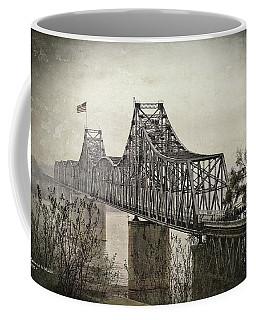 Coffee Mug featuring the digital art Old Vicksberg Bridge2 by Bonnie Willis