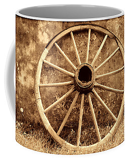 Old Wagon Wheel Coffee Mug